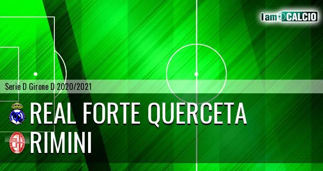 Real Forte Querceta - Rimini