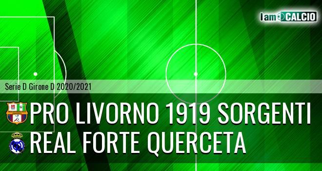 Pro Livorno 1919 - Real Forte Querceta
