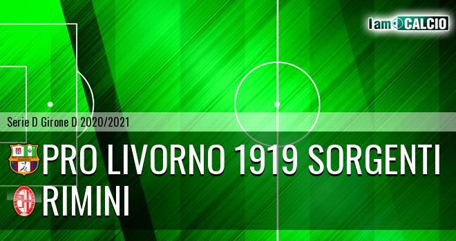 Pro Livorno 1919 - Rimini