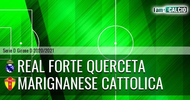 Real Forte Querceta - Marignanese Cattolica