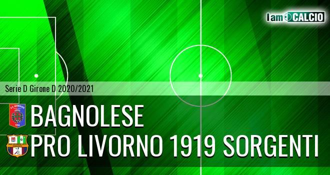 Bagnolese - Pro Livorno 1919