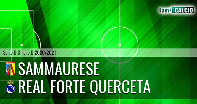 Sammaurese - Real Forte Querceta