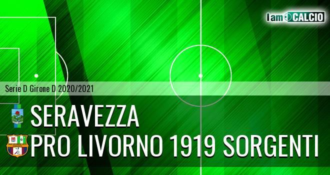 Seravezza - Pro Livorno 1919