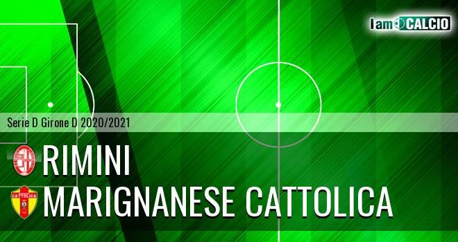 Rimini - Marignanese Cattolica