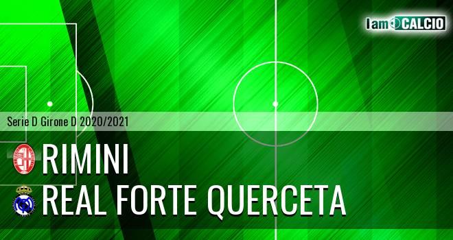 Rimini - Real Forte Querceta