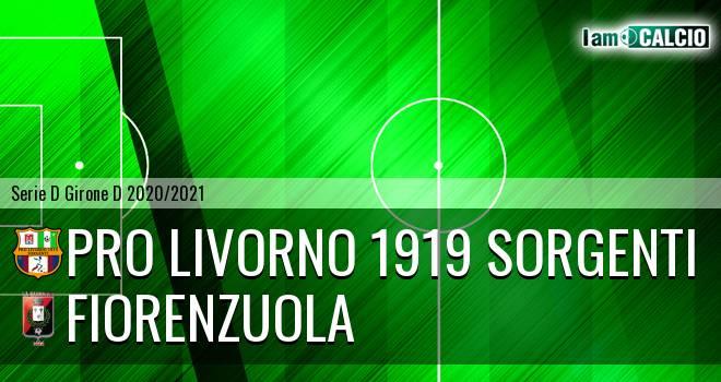 Pro Livorno 1919 - Fiorenzuola