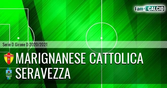 Marignanese Cattolica - Seravezza