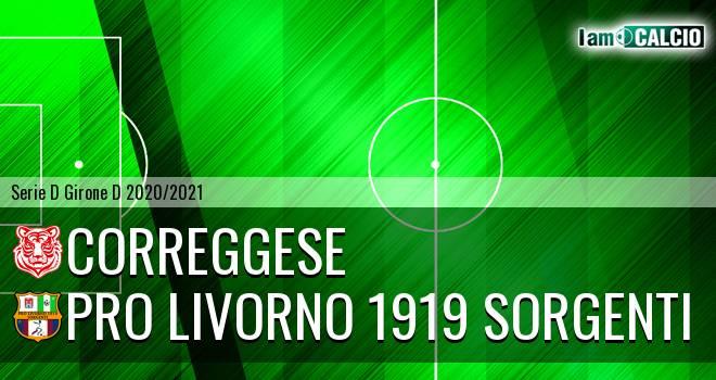 Correggese - Pro Livorno 1919 Sorgenti