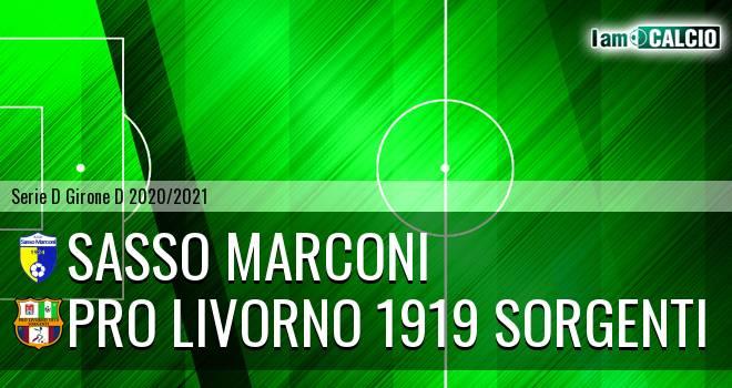 Sasso Marconi - Pro Livorno 1919