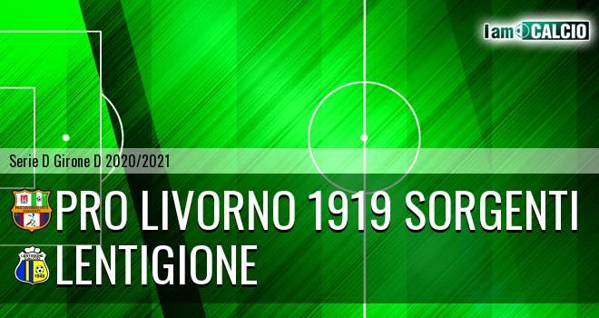 Pro Livorno 1919 - Lentigione