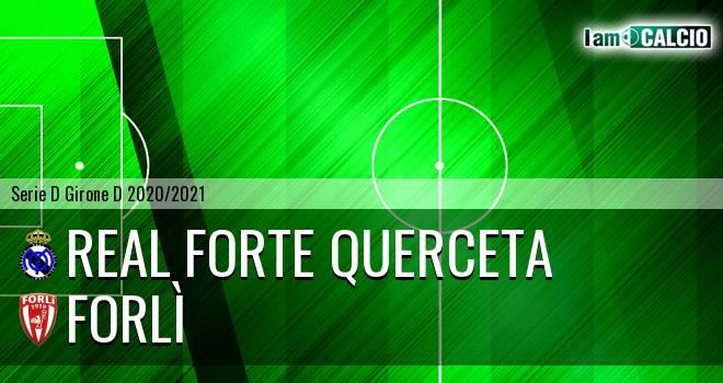 Real Forte Querceta - Forlì