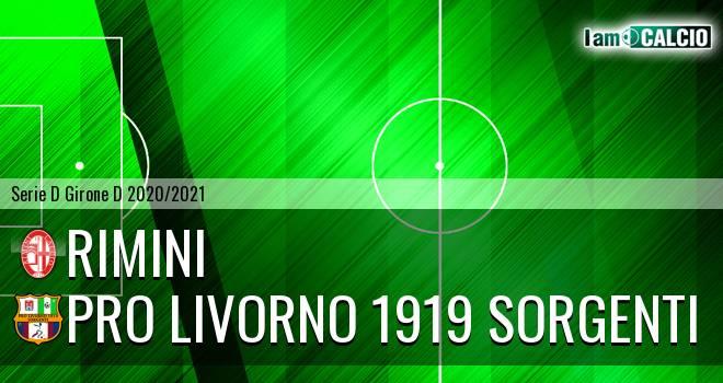 Rimini - Pro Livorno 1919