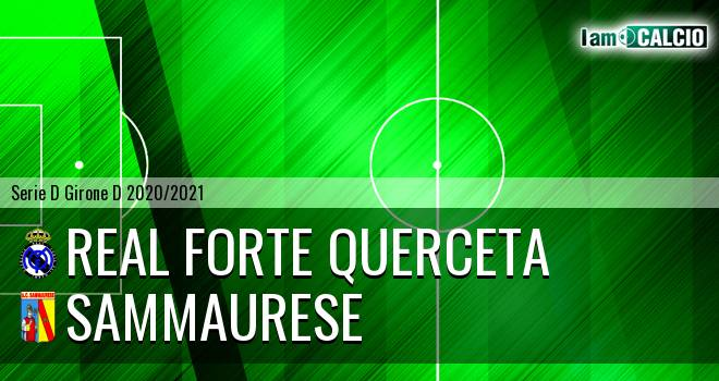 Real Forte Querceta - Sammaurese