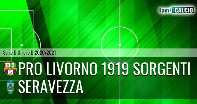 Pro Livorno 1919 - Seravezza