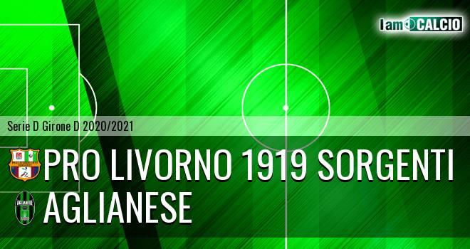 Pro Livorno 1919 - Aglianese