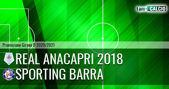 Real Anacapri 2018 - Sporting Barra