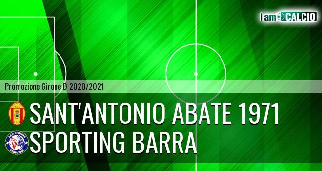 Sant'Antonio Abate 1971 - Sporting Barra