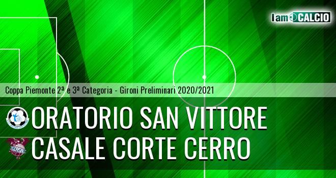 Oratorio San Vittore - Casale Corte Cerro