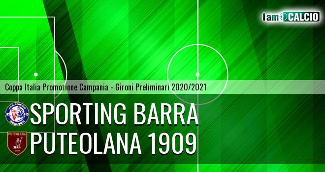 Sporting Barra - Puteolana 1909