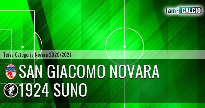 San Giacomo Novara - 1924 Suno