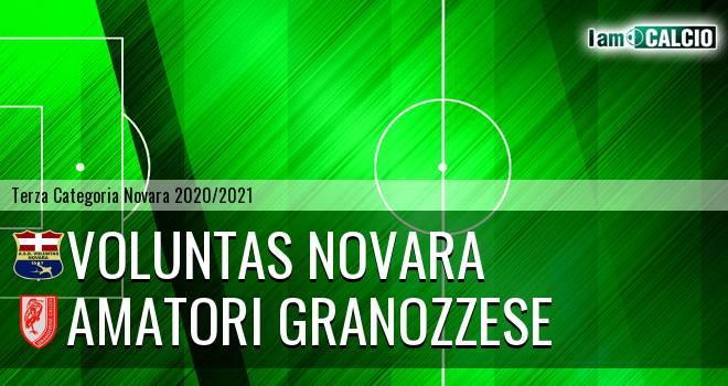 Voluntas Novara - Amatori Granozzese