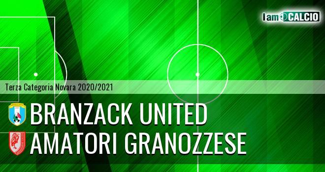 Branzack United - Amatori Granozzese