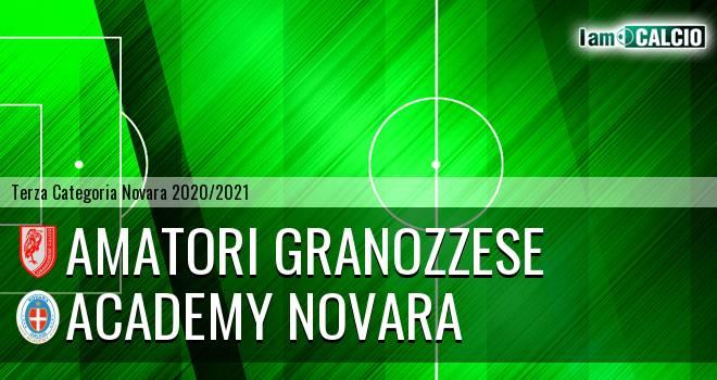Amatori Granozzese - Academy Novara