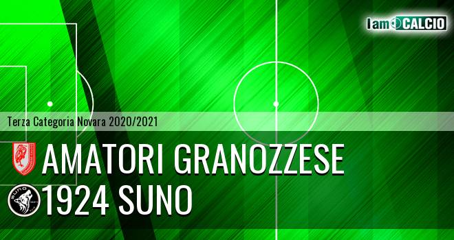 Amatori Granozzese - 1924 Suno
