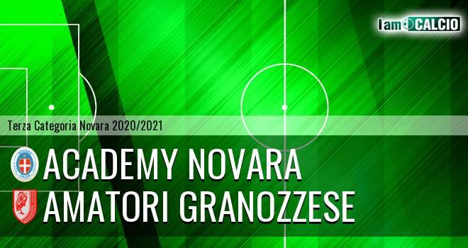 Academy Novara - Amatori Granozzese