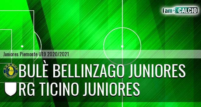 Bulè Bellinzago juniores - Rg Ticino juniores