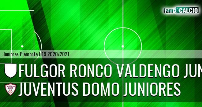 Fulgor Ronco Valdengo juniores - Juventus Domo juniores