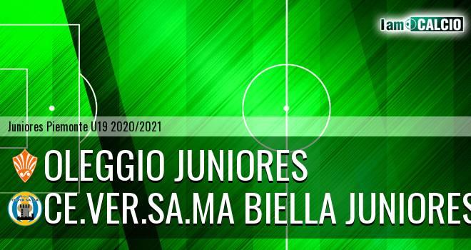 Oleggio juniores - Ce.Ver.Sa.Ma Biella juniores