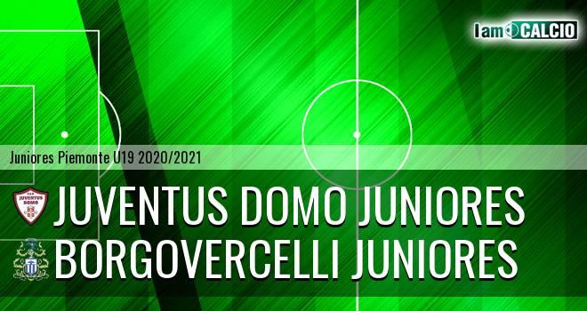 Juventus Domo juniores - Borgovercelli juniores