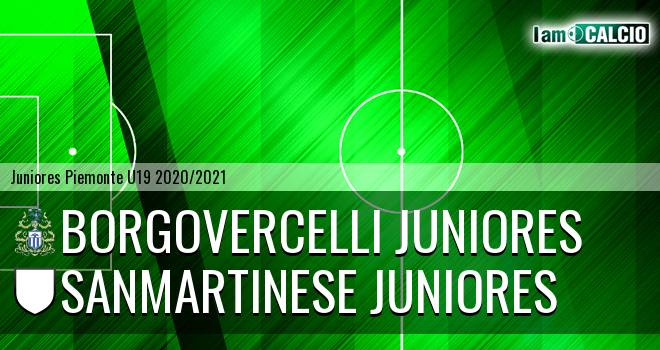 Borgovercelli juniores - Sanmartinese juniores