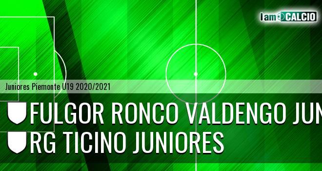 Fulgor Ronco Valdengo juniores - Rg Ticino juniores