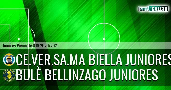 Ce.Ver.Sa.Ma Biella juniores - Bulè Bellinzago juniores