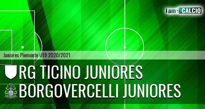 Rg Ticino juniores - Borgovercelli juniores