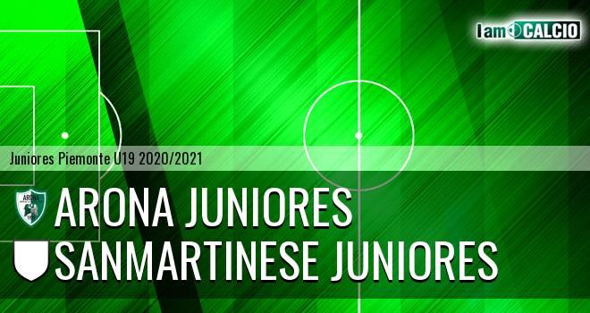 Arona juniores - Sanmartinese juniores
