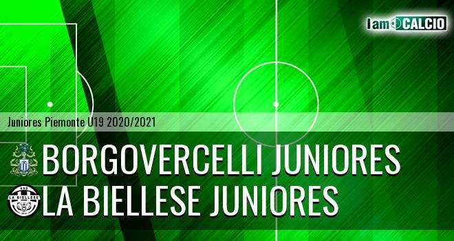Borgovercelli juniores - La Biellese juniores