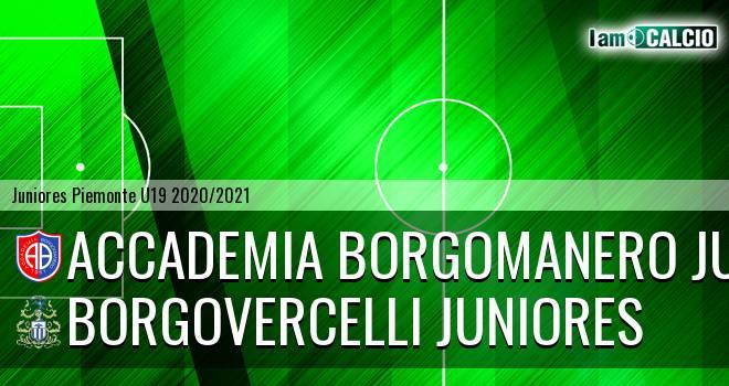 Accademia Borgomanero juniores - Borgovercelli juniores