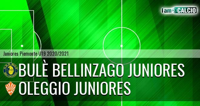 Bulè Bellinzago juniores - Oleggio juniores
