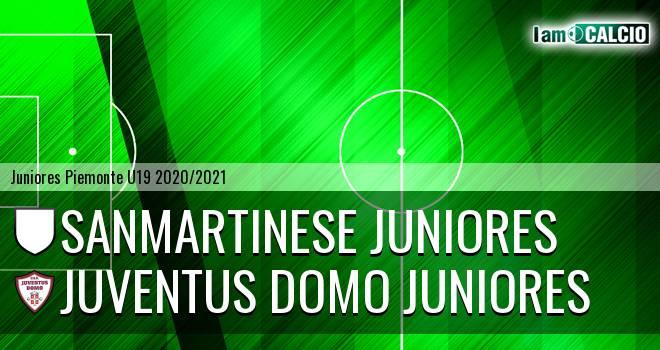 Sanmartinese juniores - Juventus Domo juniores