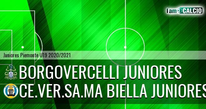 Borgovercelli juniores - Ce.Ver.Sa.Ma Biella juniores