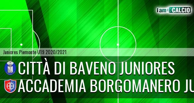 Città di Baveno juniores - Accademia Borgomanero juniores