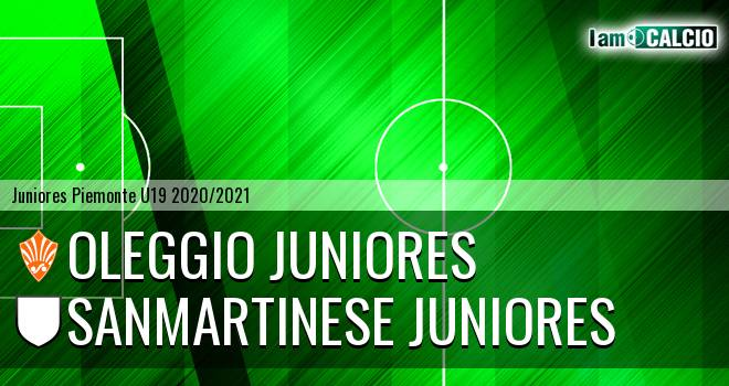 Oleggio juniores - Sanmartinese juniores