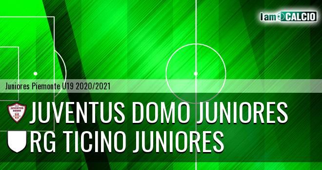 Juventus Domo juniores - Rg Ticino juniores