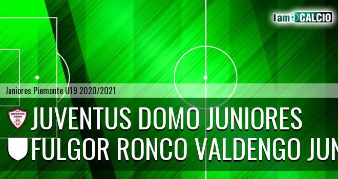 Juventus Domo juniores - Fulgor Ronco Valdengo juniores