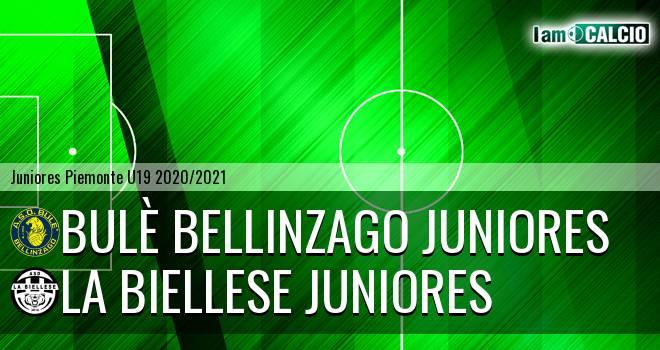 Bulè Bellinzago juniores - La Biellese juniores