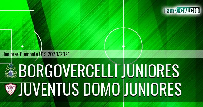 Borgovercelli juniores - Juventus Domo juniores