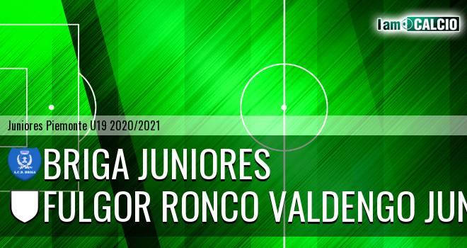 Briga juniores - Fulgor Ronco Valdengo juniores